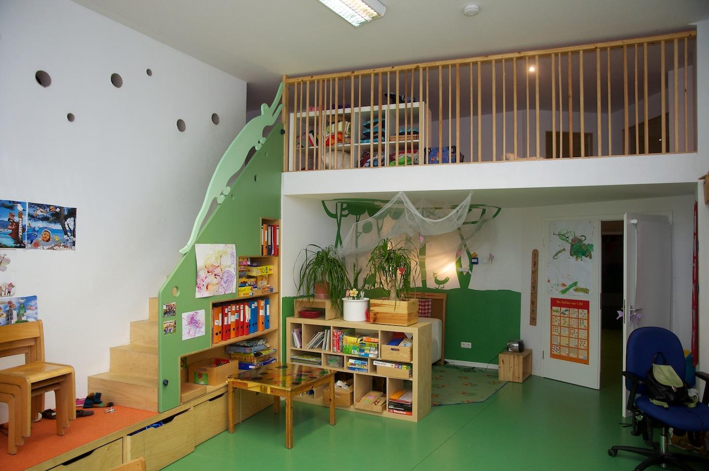 Elementarbereich kinderladen bambino for Raumgestaltung atelier kita