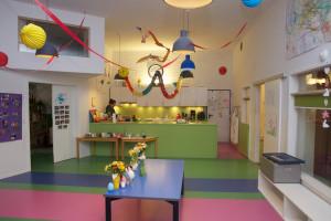 Unsere gemeinsame Küche und Aufenthaltsraum