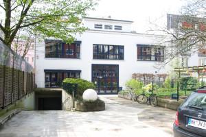 Das Hinterhaus, in dem unsere Elementargruppen untergebracht sind